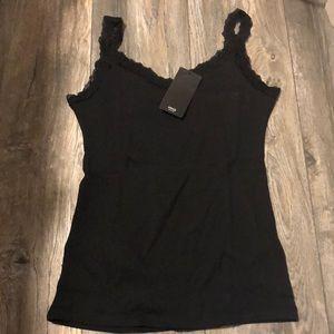 Mango Black Camisole